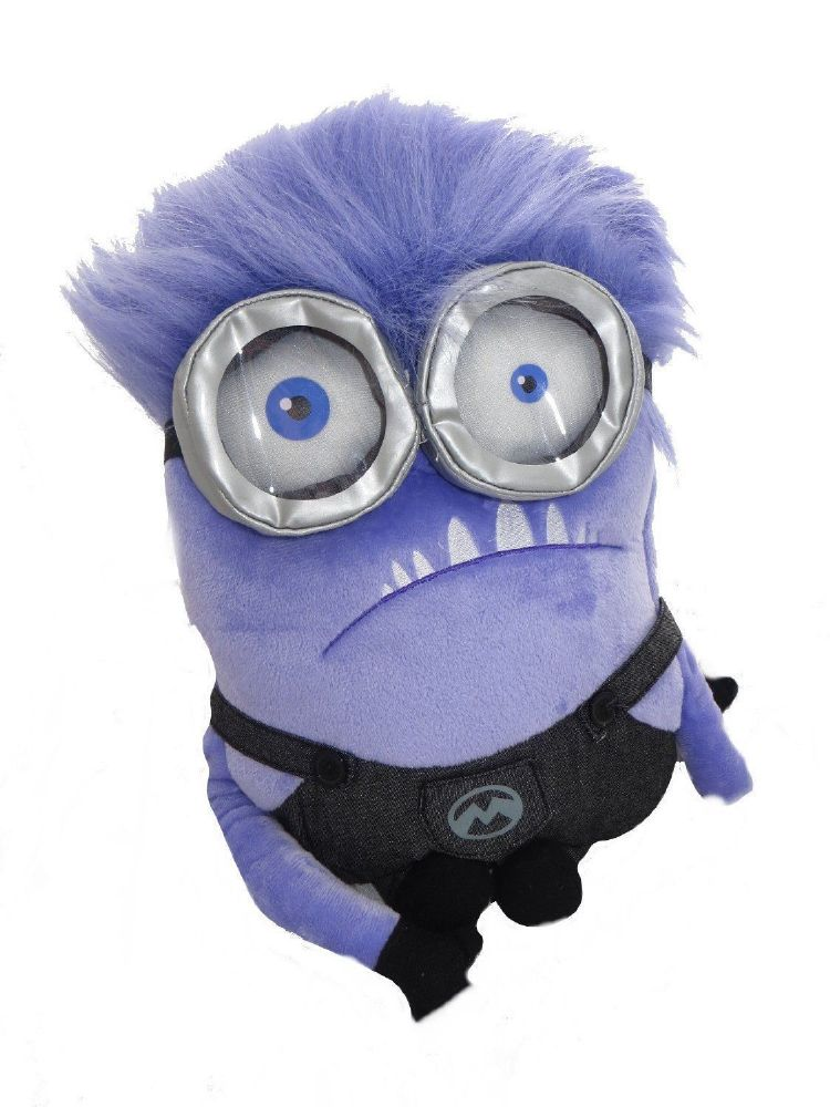 Despicable Me Minions Purple Minion Backpack